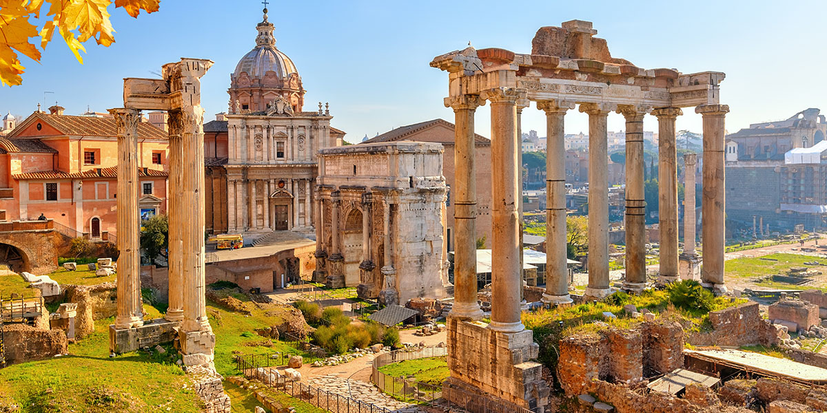 Rome - Romeinse ruïnes