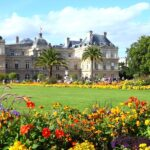 Luxemburg Paleis en park in Parijs