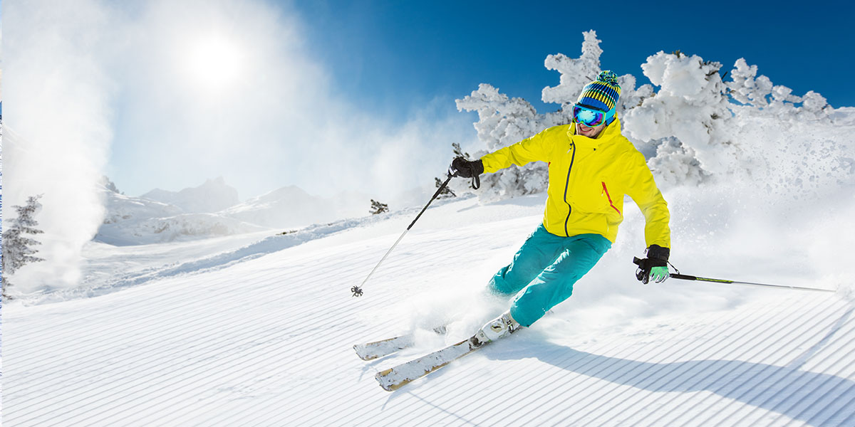 Snowboarden in Val Thorens